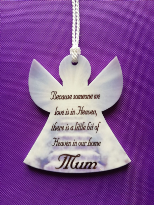 Memorial Stairway to Heaven Angel Christmas Ornament Decoration